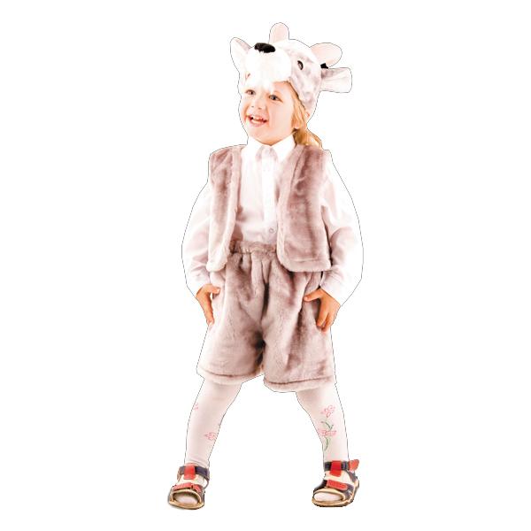 Карнавальный костюм Козлик серый арт. 148-2