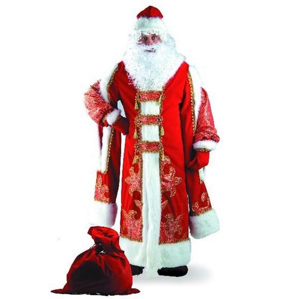 Карнавальный костюм Дед Мороз Царский