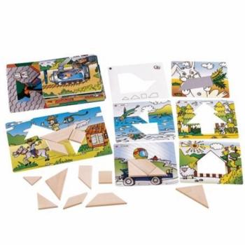 Детская развивающая игра Танграм