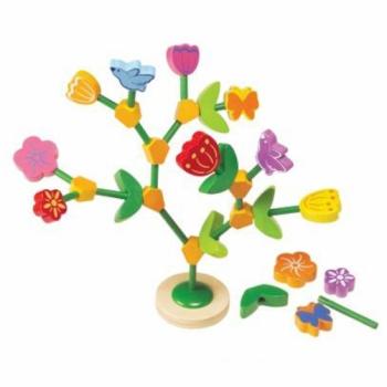 Игра для развития моторики Цветы и дерево