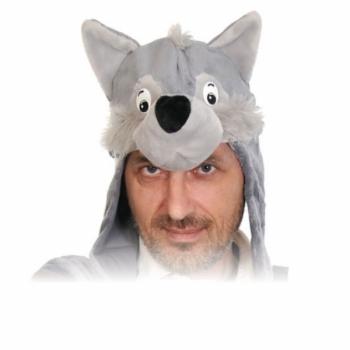 Шапка Волк К4571