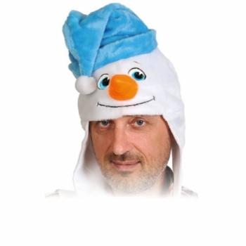 Шапка Снеговик К4573