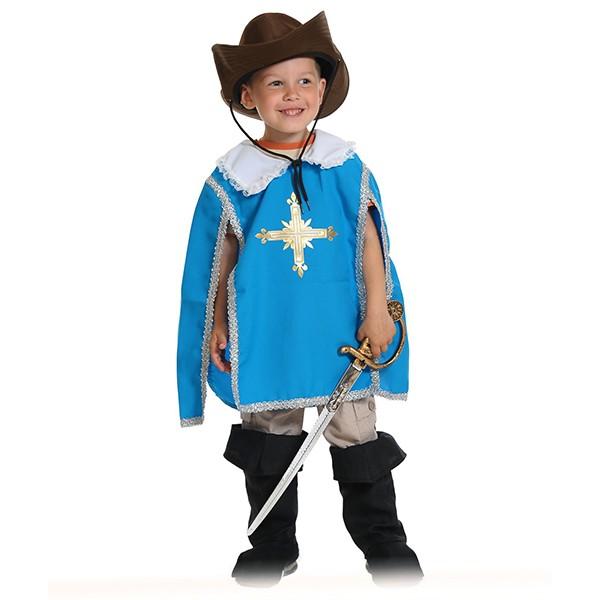Карнавальный костюм Мушкетер синий k5124