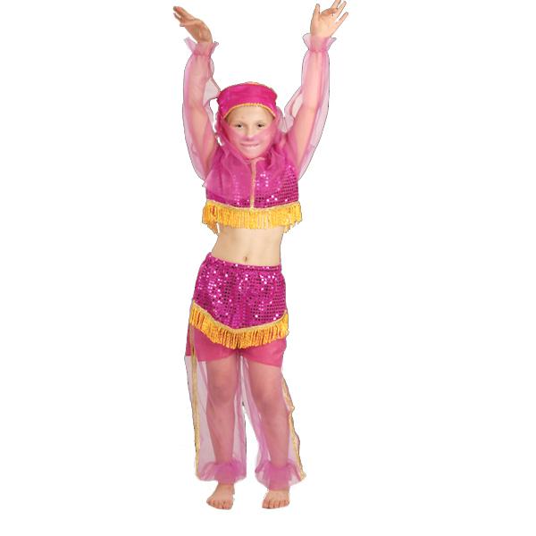 Карнавальный костюм Жасмин розовая арт.7022-3