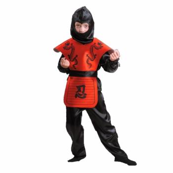 Карнавальный костюм Ниндзя красный арт 7028