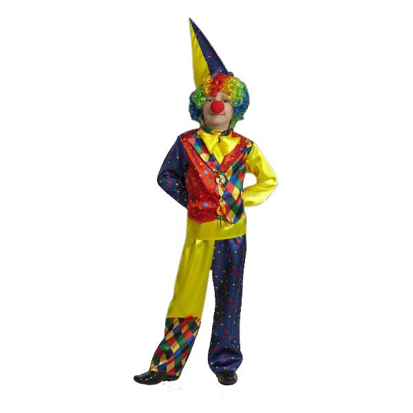 Карнавальный костюм Клоун Шкет арт 7452