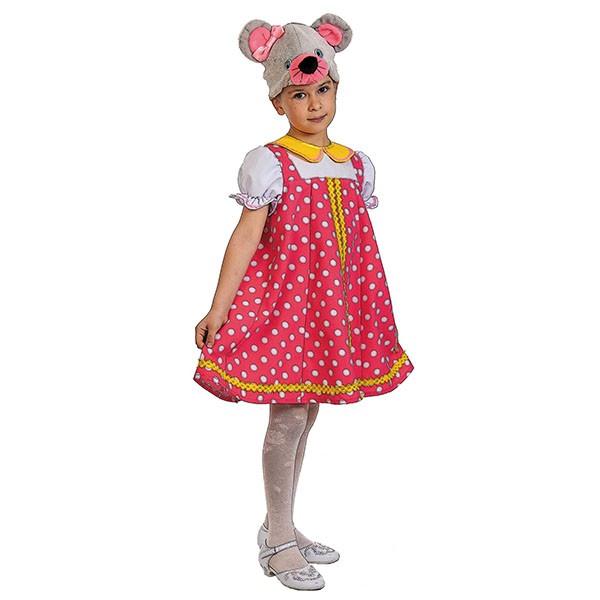 Карнавальный костюм Мышка Норушка k8009