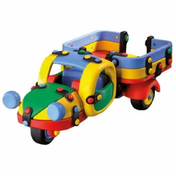 Детский игровой конструктор Грузовой мотороллер