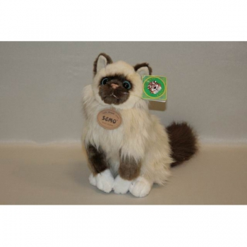 Мягкая игрушка Кошка сиамская