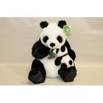 Мягкая игрушка Панда с детенышем