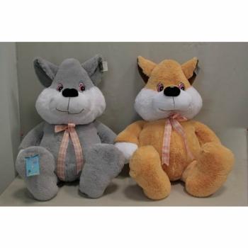 Мягкая игрушка Кот с бантом арт. 91073