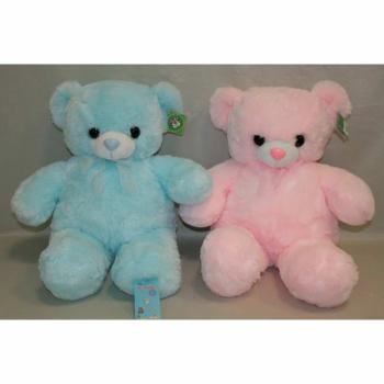 Мишка голубой и розовый арт. 91496