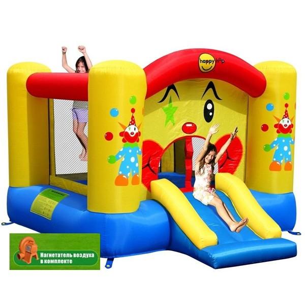 Детский надувной батут Веселый Клоун