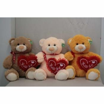 Мягкая игрушка Медведь с сердцем арт. 94870