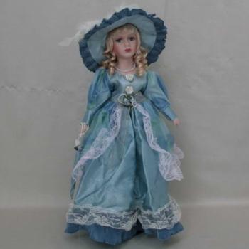 Фарфоровая кукла Lauren