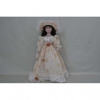 Фарфоровая кукла Lillian