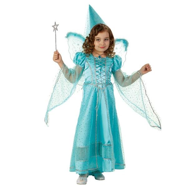 Карнавальный костюм Фея сказочная голубая
