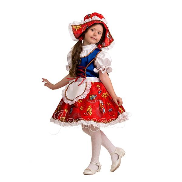 Костюм Красная шапочка сказочная