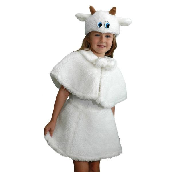 Карнавальный костюм Козочка (овечка)