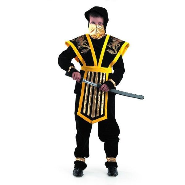 Карнавальный костюм Мастер ниндзя желтый