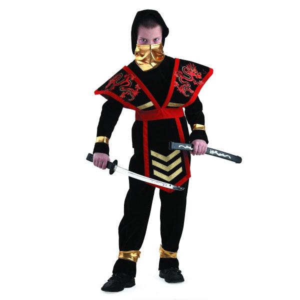 Карнавальный костюм Мастер ниндзя красный