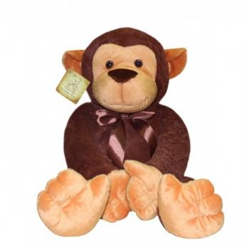 Мягкая игрушка Обезьна Бони Браун