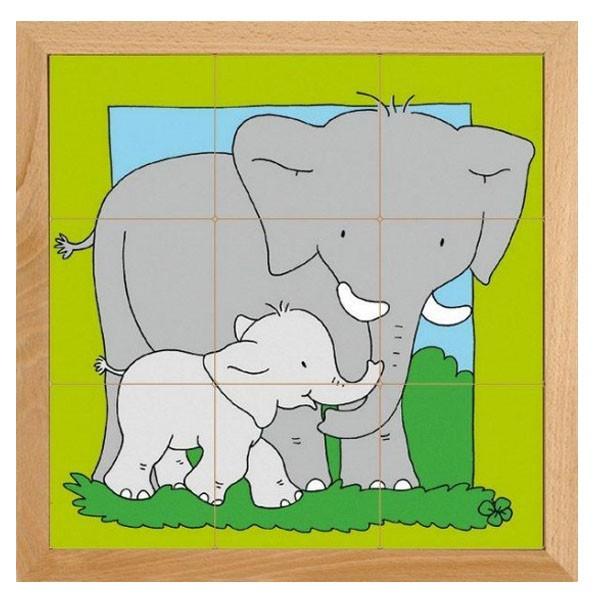 Детская развивающая игра Пазл «Слон» арт. 522280