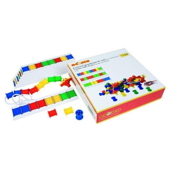 Детская развивающая настольная игра «Цветные катушки» арт. 523057