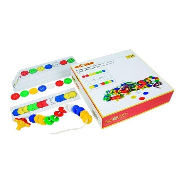 Детская развивающая настольная игра «Веселые пуговицы» арт. 523056