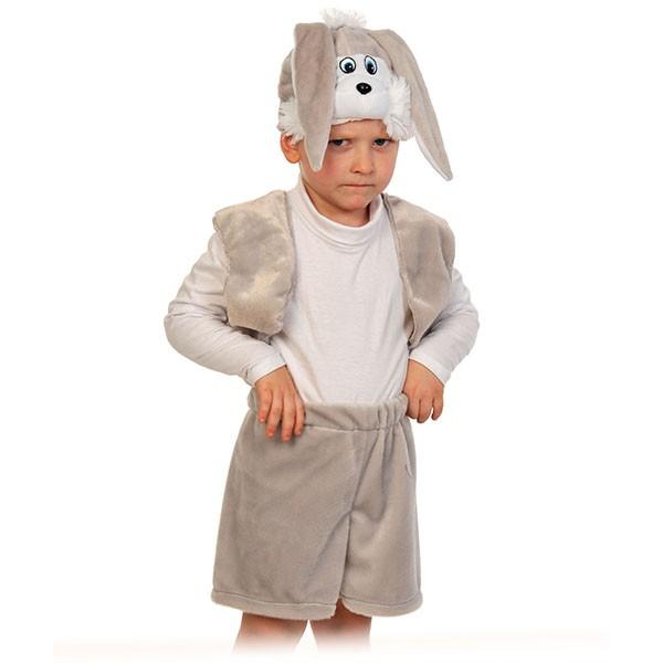 Карнавальный костюм Зайчик серый k00-3005