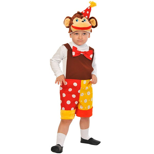 Карнавальный костюм Шимпанзенок из цирка k2071