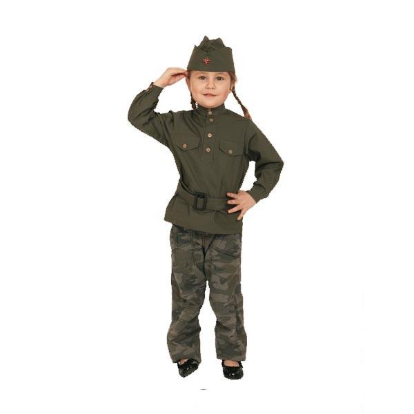 Карнавальный костюм Гимнастерка детская 108 001-1