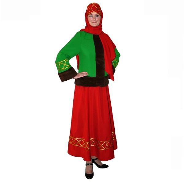 Карнавальный костюм Боярыня арт KKVd-2-28kz