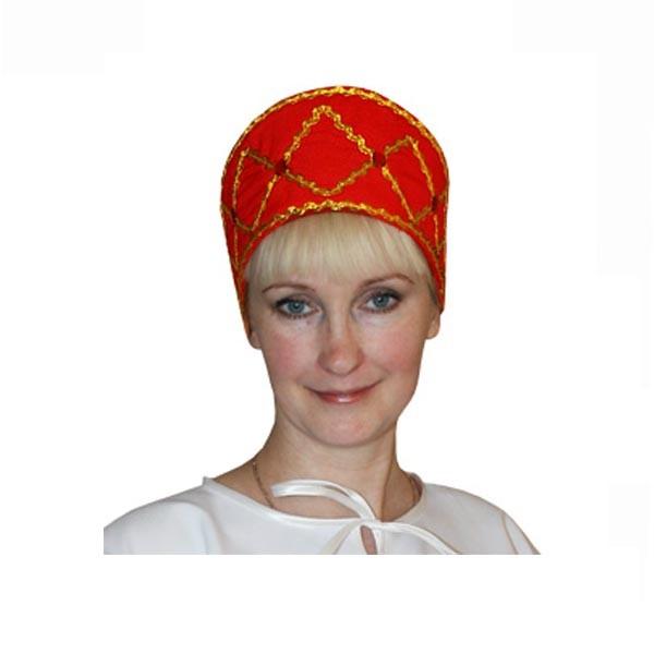Карнавальный аксессуар Кокошник Дарья арт KOK-7k