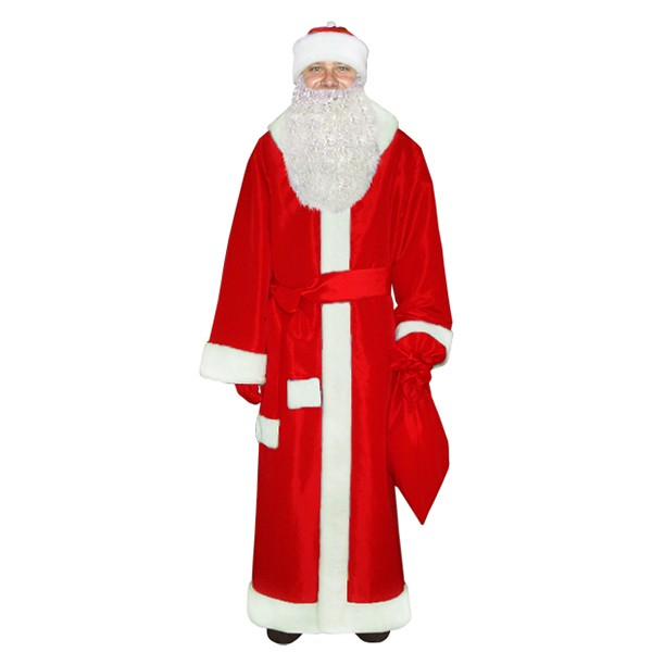 Карнавальный костюм Деда Мороза арт M-101k
