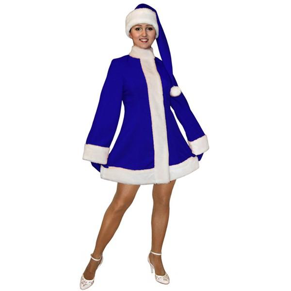 Карнавальный костюм Снегурочки MKM-3s