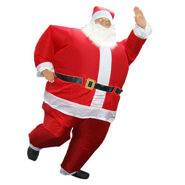 Надувной костюм Дед Мороз арт. NK750b