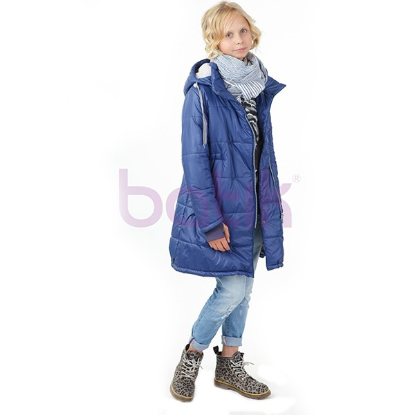 Пальто для девочки Веста арт П320-ЧА