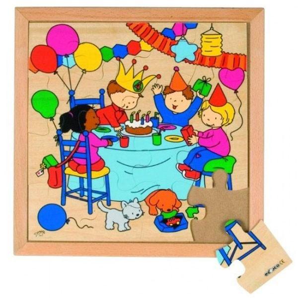 Детская развивающая игра  пазл «День рождения» арт. 522913