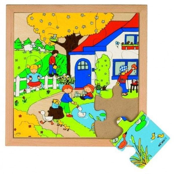 Детская развивающая игра  Пазл «Весна» арт. 522855
