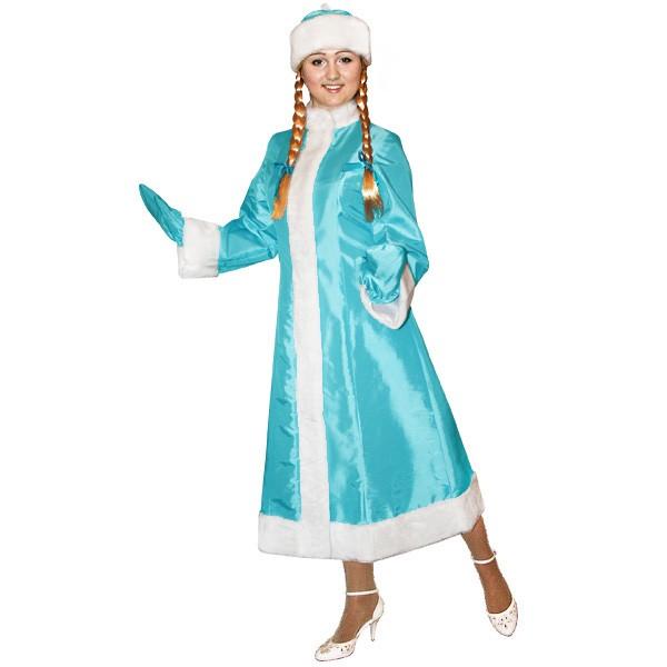 Карнавальный костюм Снегурочки арт S-105g