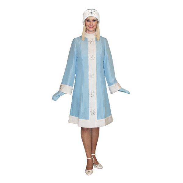 Карнавальный костюм Снегурочки арт S-2g
