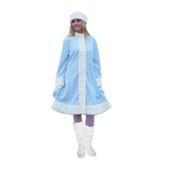 Карнавальный костюм Снегурочки арт S-7g
