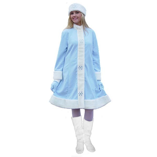Карнавальный костюм Снегурочки арт S-8g