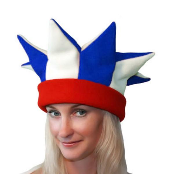 Карнавальная шапка Скомороха арт SHA-10