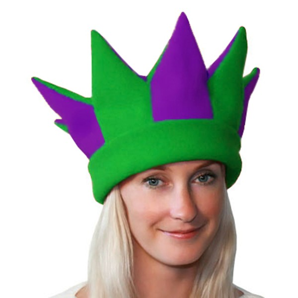 Карнавальная шапка Скомороха арт SHA-8