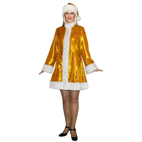 Карнавальный костюм Снегурочки мини SМ-208z